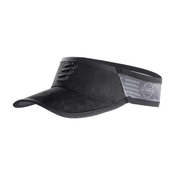 Viseira Compressport Visor Black Edition