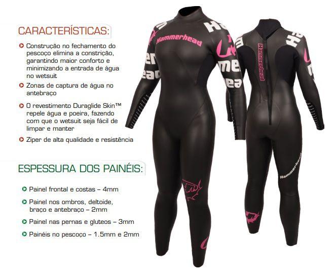 Wetsuit Triathlon Hammerhead Performance Feminino