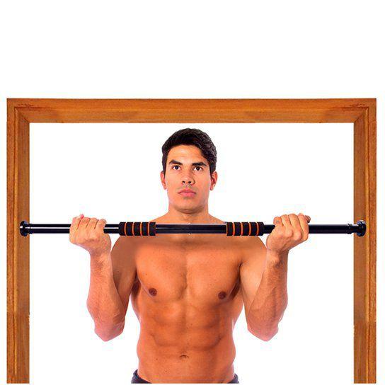 Barra de Exercicio Ajustável que Prende na Porta Acte Sports T142