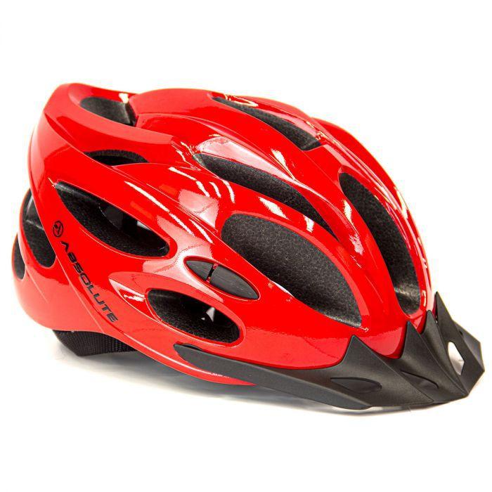 Capacete Ciclismo Absolute Nero Bike Mtb Speed Com Pisca Led