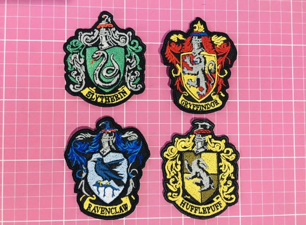 PATCH BORDADO BRASÕES HARRY POTTER TERMOCOLANTE
