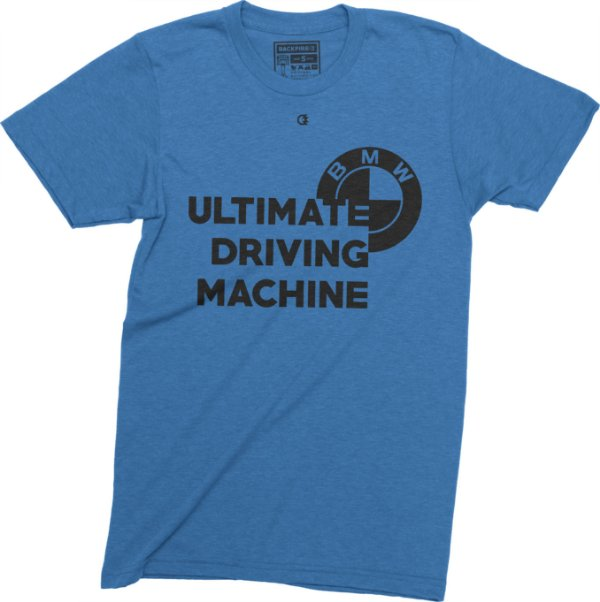 Ultimate Driving Machine T-Shirt - Blue