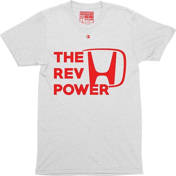 The Rev Power T-shirt - White