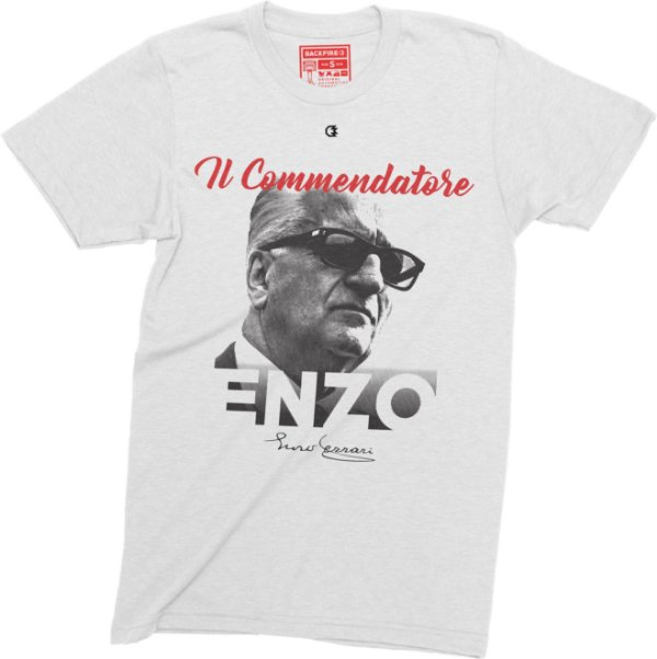 il Commendatore - Enzo Ferrari T-shirt