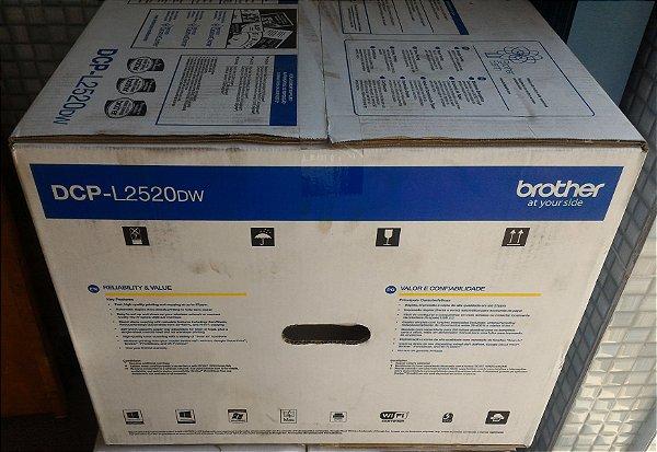 Multifuncional Brother Laser Preto e Branco - DCP-L2520DW