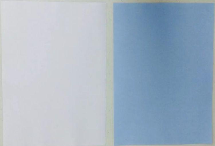Papel A4 Transfer Sublimático Azul PCT