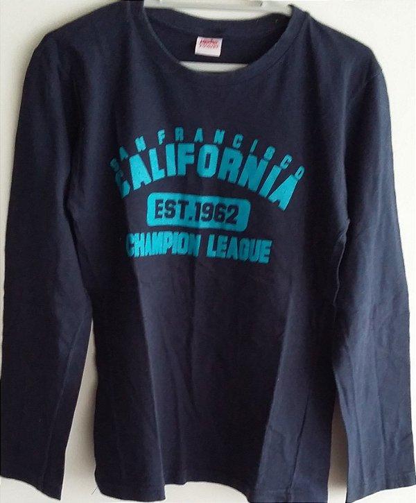 0f598ca6b Camiseta manga longa Esportiva UNDER ZONE - Quiser Modas e Acessórios