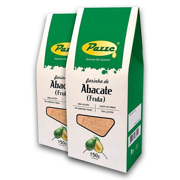 Kit 2 Farinha de Abacate Pazze 150 gramas
