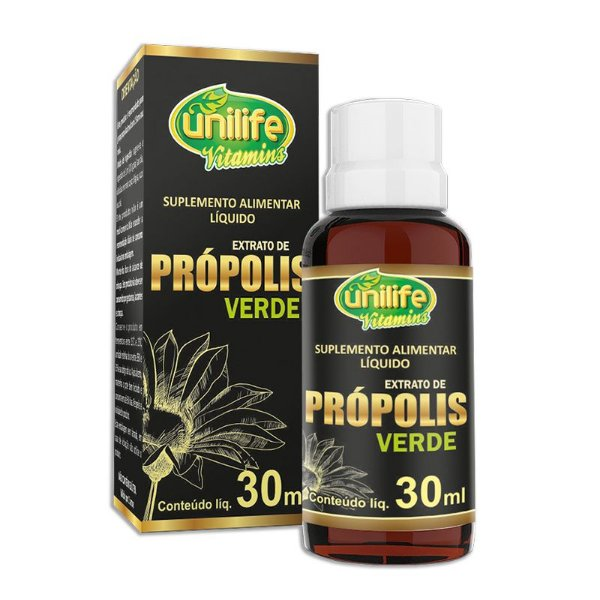 Extrato de Própolis Verde Unilife 30ml