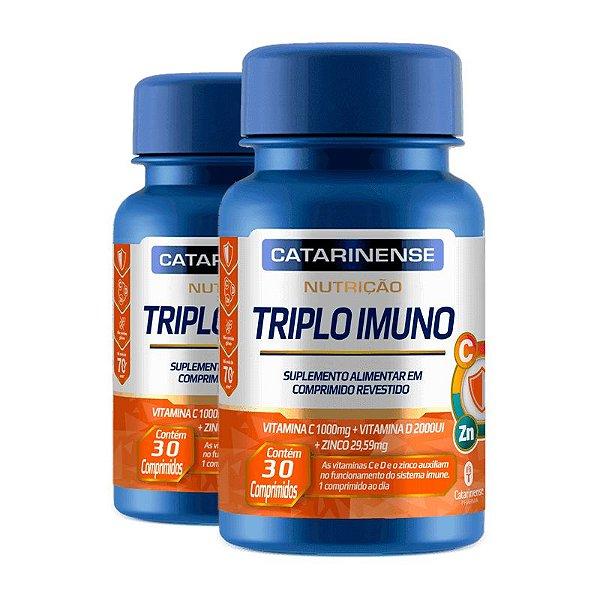 Kit 2 Triplo Imuno Catarinense  30 Capsulas