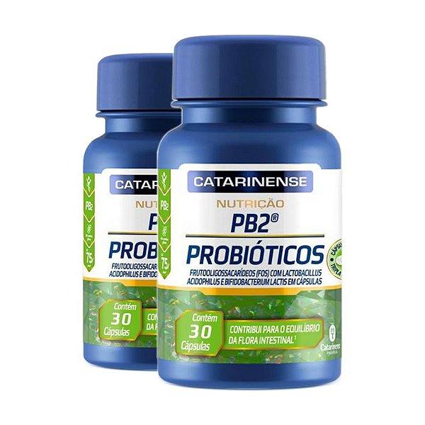Kit 2 Probioticos  Catarinense  30 Capsulas