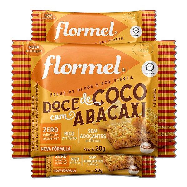 Kit 3 Doce de Abacaxi com Coco Zero Açúcar Flormel