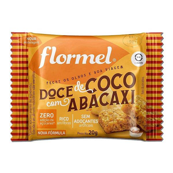 Doce de Abacaxi com Coco Zero Açúcar Flormel