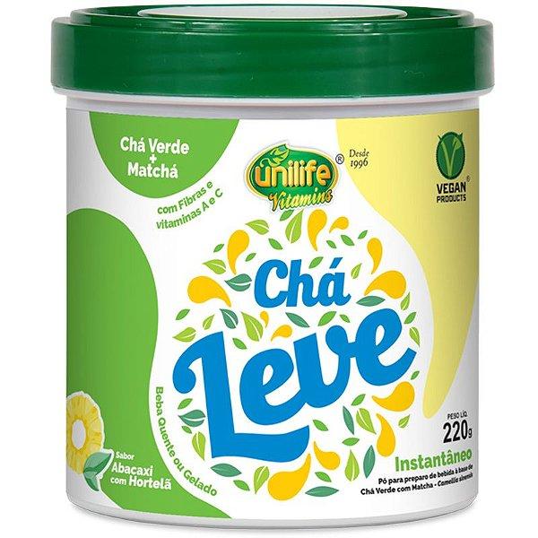 Chá Verde e Matcha Leve 220g Unilife