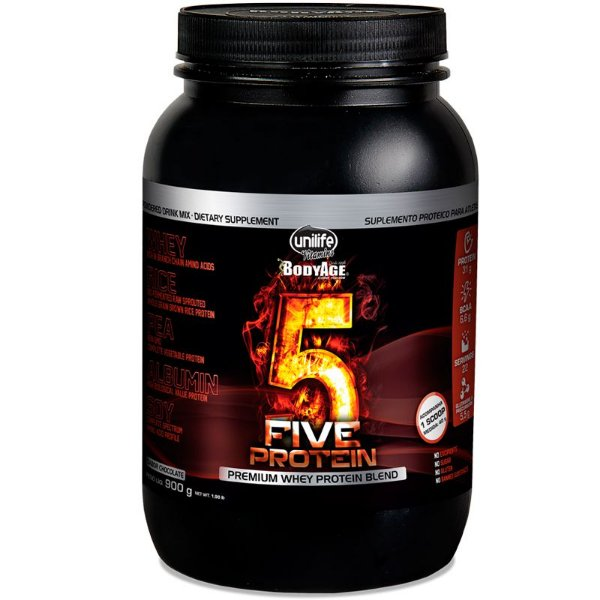 Blend proteico Five Protein chocolate Unilife