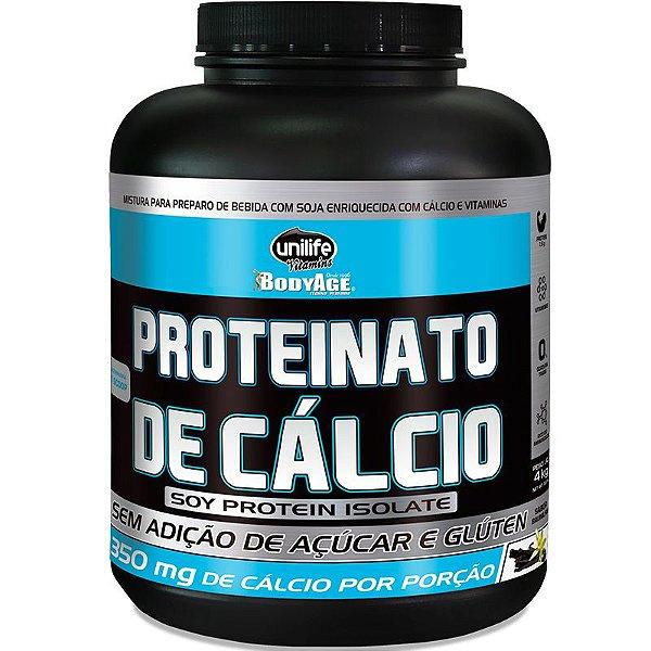 Proteinato de Cálcio 4kg sabor baunilha Unilife