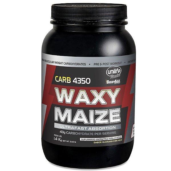 Carb Waxy Maize Pré Treino 1,4 kg Guaraná com Açaí Unilife