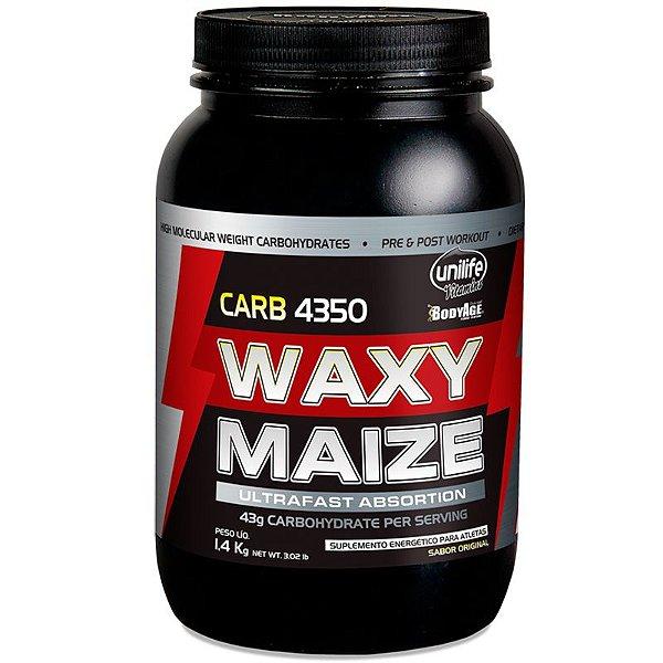 Carb Waxy Maize Pré Treino 1,4 kg natural Unilife