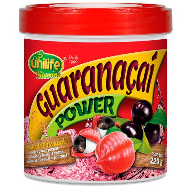 Suco Guaranaçaí Power 220g Unilife