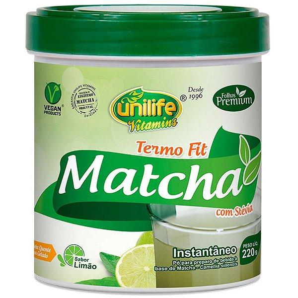 Matcha termo fit 220g sabor limão Unilife