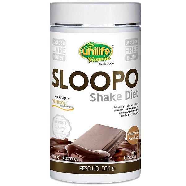 Shake Diet com colageno  400g Sabor Chocolate Unilife