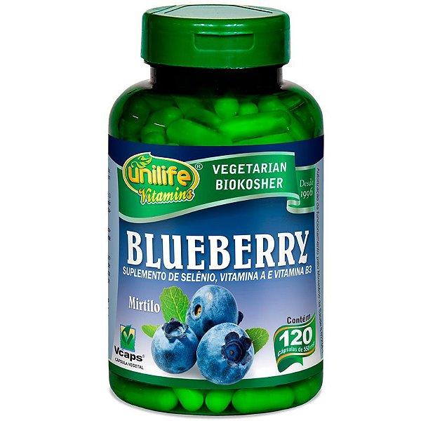 Blueberry 60 cápsulas Unilife