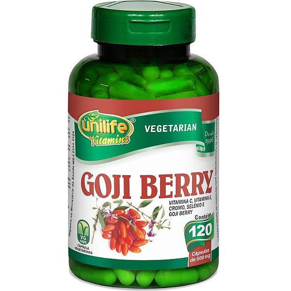 Goji Berry 120 cápsulas Unilife