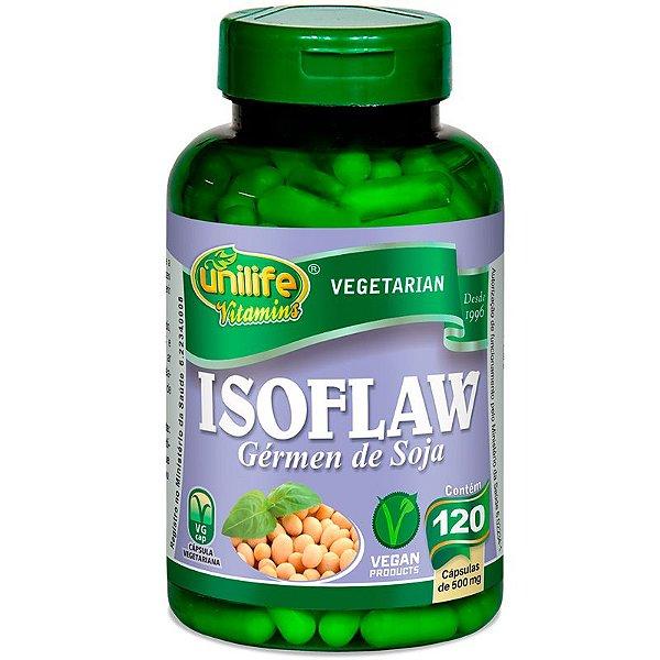 Isoflavona Germen de Soja 120 Cápsulas Unilife