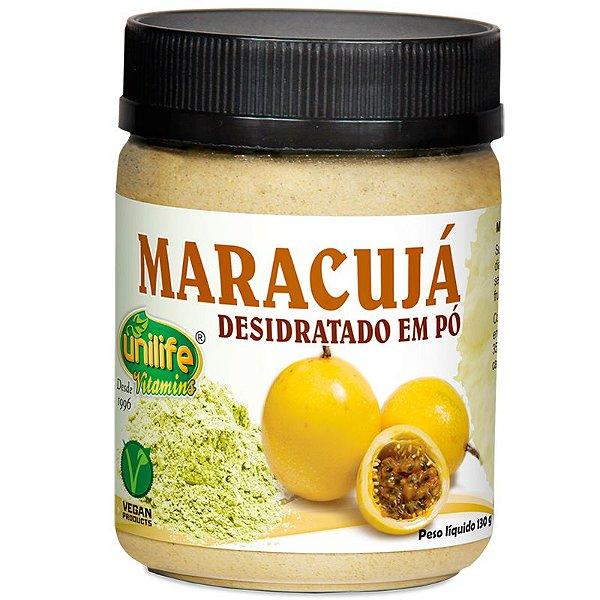 Farinha de Maracujá desidratado em pó 130g Unilife