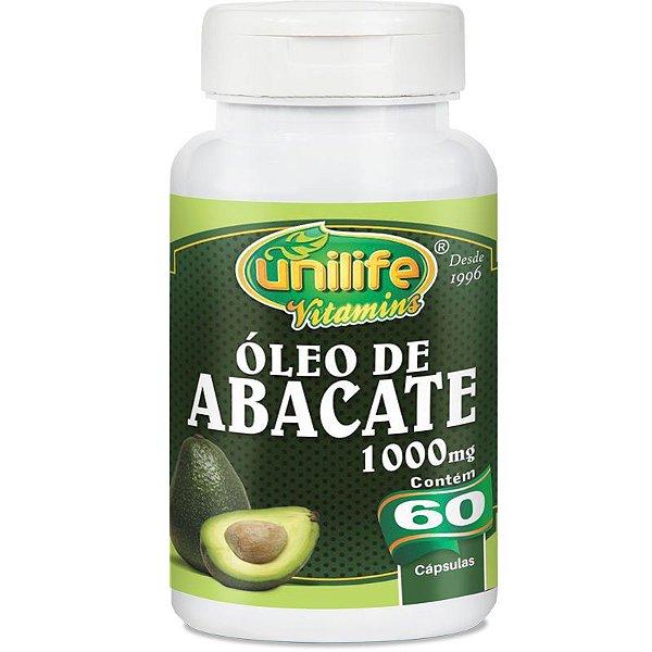 Oléo de Abacate 60 cápsulas Unilife