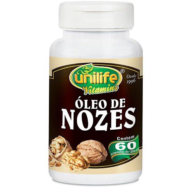 Óleo de Nozes 60 cápsulas Unilife