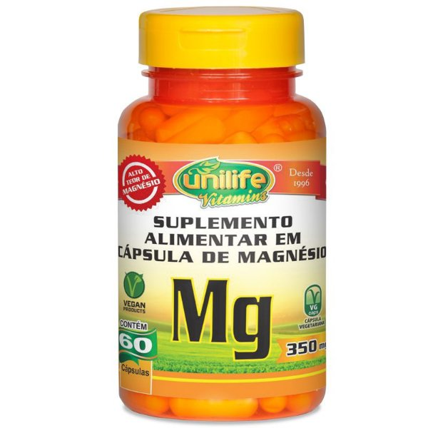 Magnésio Quelato Unilife 60 Cápsulas