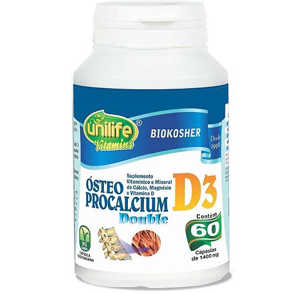 Ósteo Procalcium D3 60 cápsulas Unilife