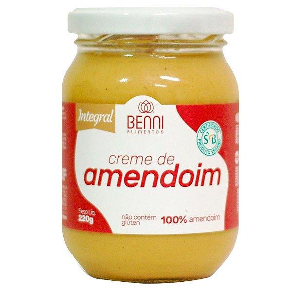 Creme de Amendoim 220g Benni Alimentos