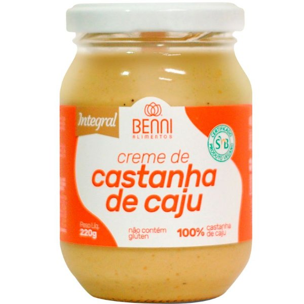 Manteiga de Castanha de Caju 220g Benni Alimentos