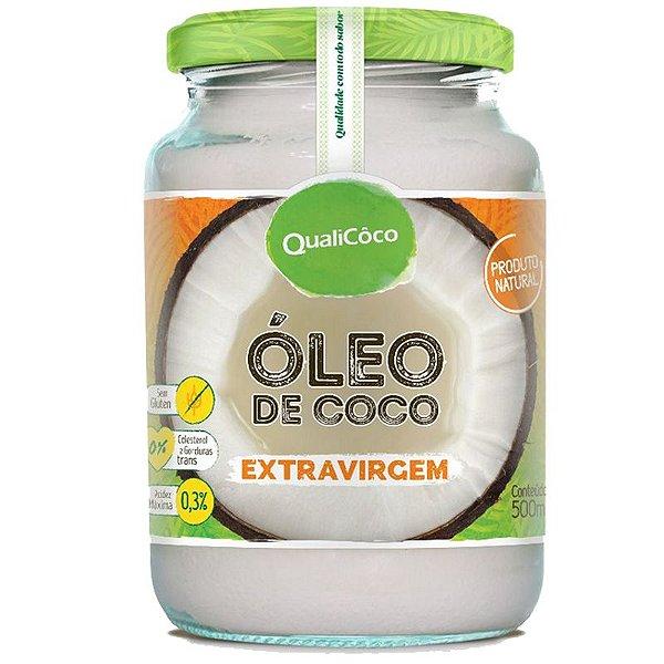 Óleo de Coco Extra Virgem 500ml Qualicôco