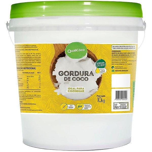Gordura de Coco Balde 10Kg Qualicôco