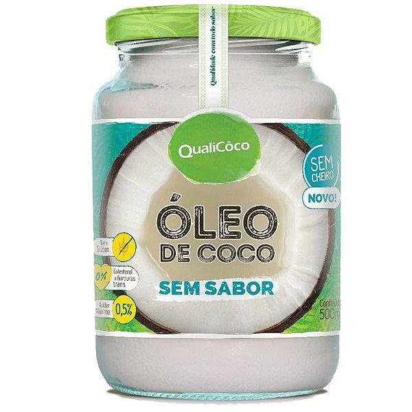 Óleo de Coco Sem sabor 500ml Qualicôco
