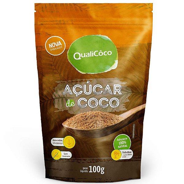 Açúcar de coco 150g natural QualiCôco
