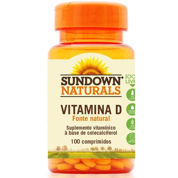 Vitamina D3 Sundown 100 comprimidos