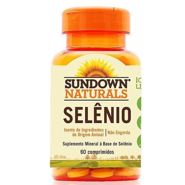 Selênio 34MCG Sundown 60 cápsulas