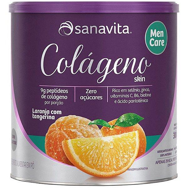 Colágeno Hidrolisado Men Care 300g Laranja
