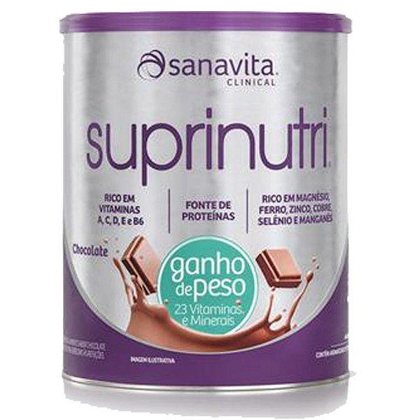 Suprinutri Ganho de Peso Sanavita 400g Chocolate