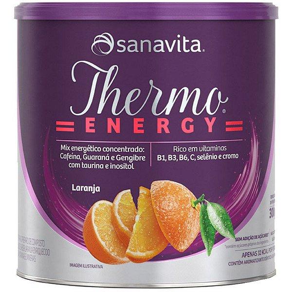 Thermo Energy Termogênico Sanavita 300g Laranja