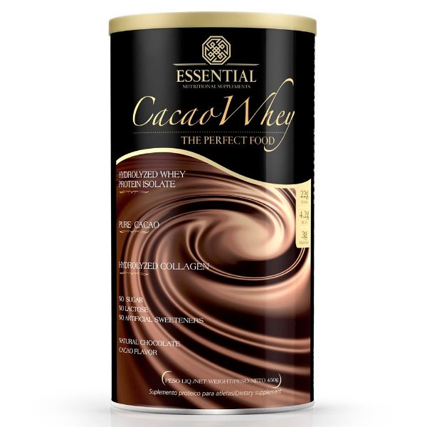 Cacao Whey Protein Essential Nutrition 450g