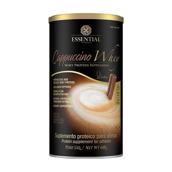 Capucino Whey Protein Essential Nutrition 448g