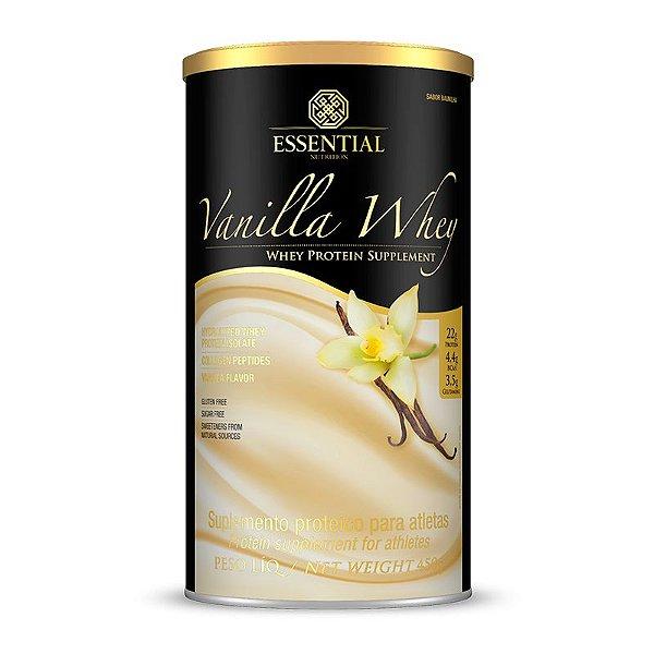Vanilla Whey Protein Puro Essential Nutrition 450g