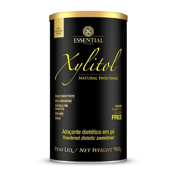 Xylitol Adoçante Natural Essential Nutrition 900g