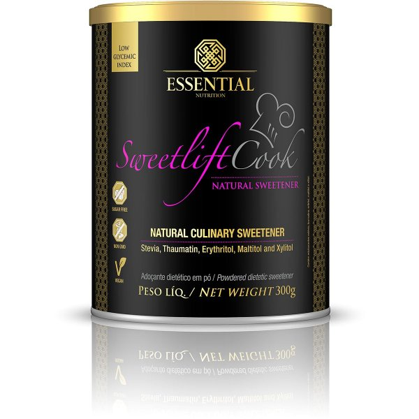 Sweetlift Cook Adoçante Natural Essential Nutrition 300g