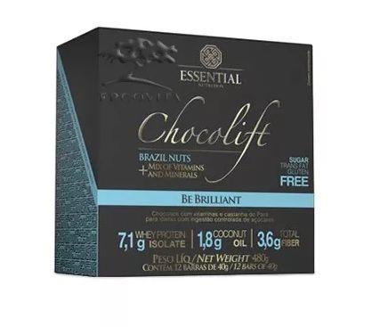 Chocolift Brazil Nuts Essential Nutrition Box 12 Unidades